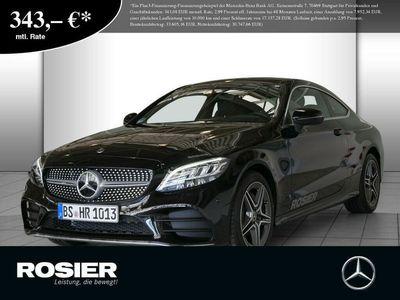 gebraucht Mercedes C180 Coupé AMG Line LED Navi Kamera Spurh.-Ass.