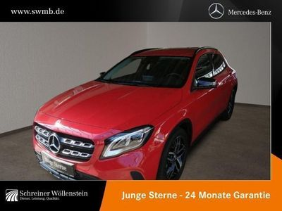 gebraucht Mercedes GLA250 Urban*7G-DCT*LED*Night*RKam*Navi*Sitzhzg