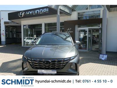 gebraucht Hyundai Tucson Trend Mild-Hybrid 2WD 1.6 T-GDI EU6d LED Navi Keyless ACC Rückfahrkam. Fernlichtass.
