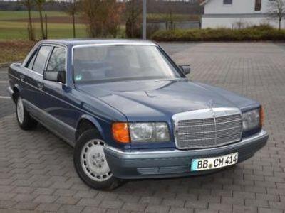 gebraucht Mercedes 420 W126Blau