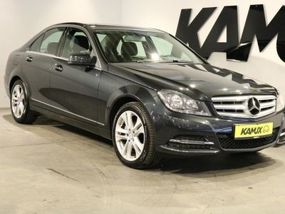 gebraucht Mercedes C220 CDI Limousine Avantgarde +Navi +Leder +Parktronic +6 Gang