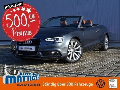 gebraucht Audi A5 Cabriolet 2.0 TDI quattro XENON/NAVI/BANG&OLU