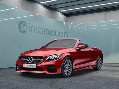 gebraucht Mercedes C220 C 220d Cabriolet AMG Sport LED Navi Kamera SHZ
