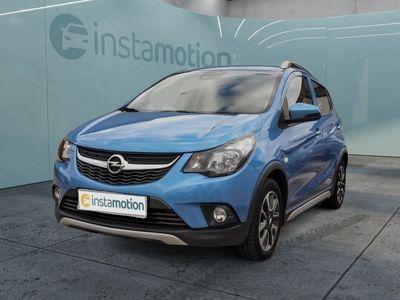 gebraucht Opel Karl KarlRocks 1.0 Navigation Einparkhilfe Tempomat Klimaanlage Sitzheizung Bluetooth Alurad