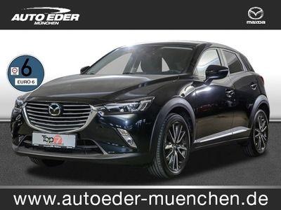 gebraucht Mazda CX-3 1.5 SKYACTIV-D 105 Sports-Line Leder, Navi, T