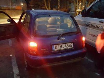 gebraucht Nissan Micra blauensparsam automatik sehr...