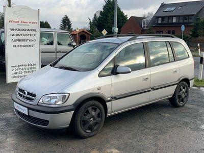 gebraucht Opel Zafira A Njoy 1.6 Klima AHK TÜV NEU 7-Sitzer