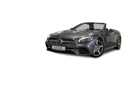 gebraucht Mercedes SL500 Navi Leder Glasdach LED Scheinwerfer Bluetooth