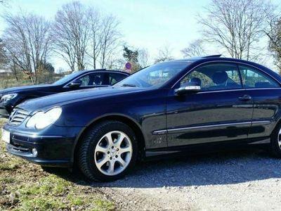 gebraucht Mercedes CLK200 Rentner Coupe, Rostfrei und Checkheft gepflegt