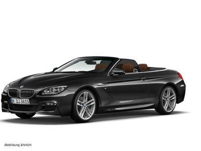 gebraucht BMW 640 Cabriolet i xDrive Sportpaket Head-Up HiFi DAB