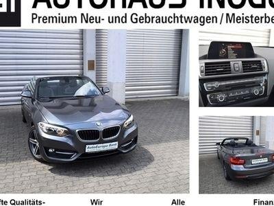 gebraucht BMW 220 d Cabrio AT Sport Line