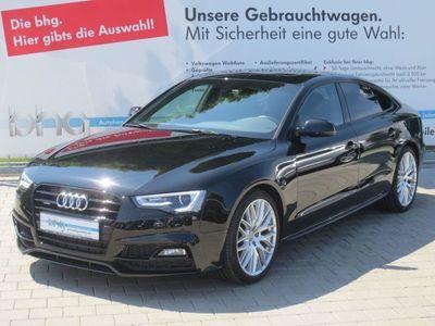 "gebraucht Audi A5 Sportback S line 3.0 TDI quattro s tronic 19"" Schiebedach Memory"