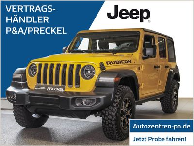 gebraucht Jeep Wrangler Unlimited Rubicon 2.0 T-GDI Dual-Top AT