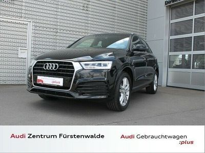 gebraucht Audi Q3 2.0 TDI sport Sline AHK LED TEMPOMAT