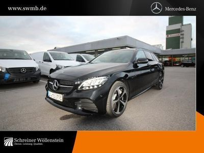 gebraucht Mercedes C300 de T AMG*Night*Com*LED*Distr.*Rück.-Kamera