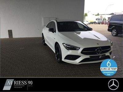 gebraucht Mercedes CLA250 e Coupé AMG+Burmester+Night+LED+Kamera