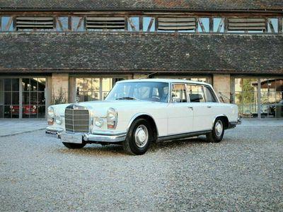 gebraucht Mercedes 600 Lim. mit seltener Trennscheibe