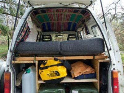 gebraucht Piaggio Porter - Micro Camper - ausgebaut -