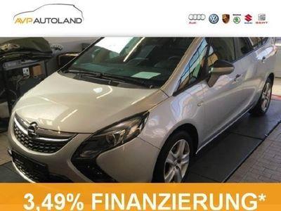 gebraucht Opel Zafira Tourer 1.4 Turbo Edition +7-Sitzer+Navi+