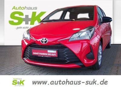 used Toyota Yaris 1,0-l 5-Türer Basis