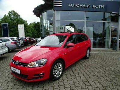gebraucht VW Golf Variant VII Cup BMT 2.0 TDI Start-Stopp Navi Keyless Dyn. Kurvenlicht Parklenkass.