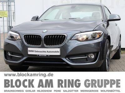 gebraucht BMW 218 i Coupé Sport Line