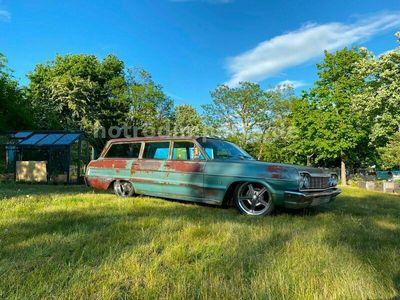 gebraucht Chevrolet Bel Air Wagon LS Power, Wahnsinns Patina Hot Rod
