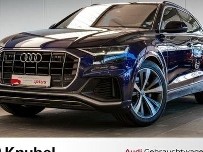 gebraucht Audi Q8 50 TDI 2x S line/Allradlenk./Luftf./AHK/Tour/