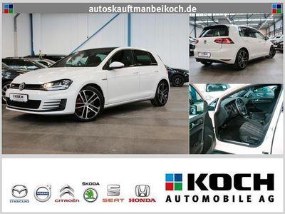 gebraucht VW Golf VII GTD BMT DSG Pano Xenon Navi Sport Sound