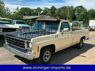 gebraucht Chevrolet C10 Long Bed Pick Up rostfrei Schalter als SUV/Geländewagen/Pickup in Wandlitz