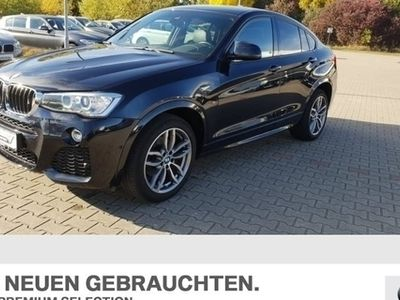 gebraucht BMW X4 xDrive20d M Sportpaket HK HiFi Xenon RFK Shz