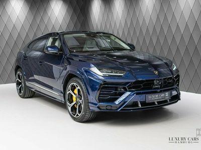gebraucht Lamborghini Urus BLUE/ BEIGE, 4-Seat, Q-Citura,Carbon, stock