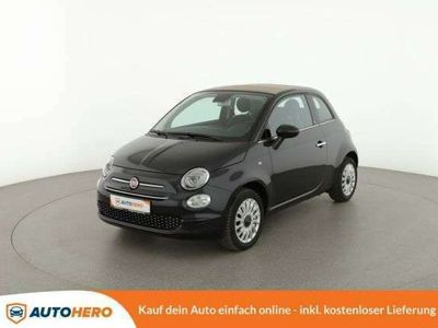 gebraucht Fiat 500C 1.2 Lounge*Tempo*Navi*Apple/Android*PDC*LM*
