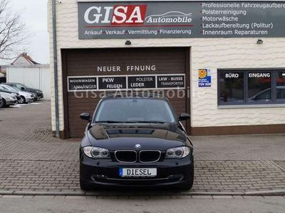 gebraucht BMW 123 Baureihe 1 Lim. d NAVI KLIMA SHZ PDC SPRACHS