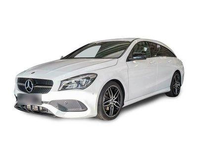 gebraucht Mercedes CLA200 CLA 200 SB AMG Line Night LED Navi PTS SHZ