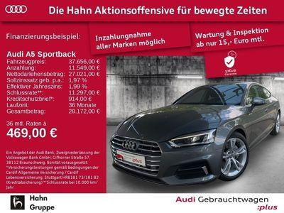 gebraucht Audi A5 Sportback 40TDI S-trc EU6d AHK Virtual Matrix Navi