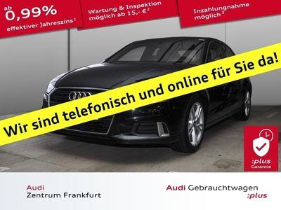 gebraucht Audi A3 Limousine Sport 35 TFSI Navi Xenon PDC Sitzhe MMIPlus PreSense Sportsitze Bremsass MMITouch