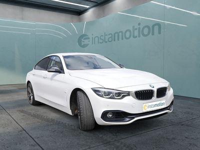 gebraucht BMW 435 Gran Coupé 435 d xDrive Sport LEDER+eGSD+NAVI+KAM