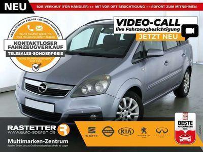 gebraucht Opel Zafira 1.8 Edition 7S Klima Temp Nebel LMF MFL eFH eASP Z
