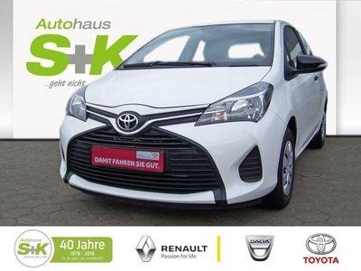 gebraucht Toyota Yaris 1,0-l-VVT-i*Klima*8-Fach bereift*