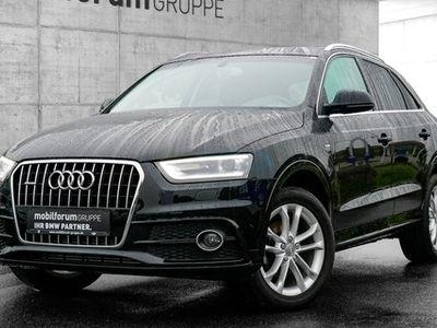 gebraucht Audi Q3 2.0 TDI quattro S-Line PDC SHZ XENON NAVI
