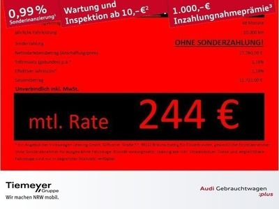 gebraucht Audi Q2 1.5 TFSI S LINE TEILLEDER LED LM19