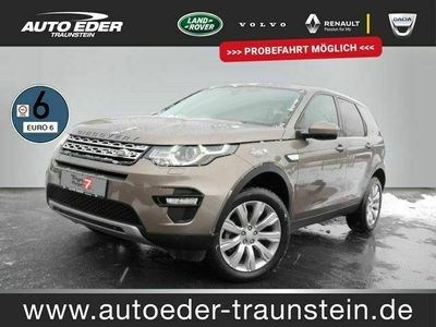 gebraucht Land Rover Discovery Sport 2.0 TD4 HSE bei Gebrachtwagen.expert