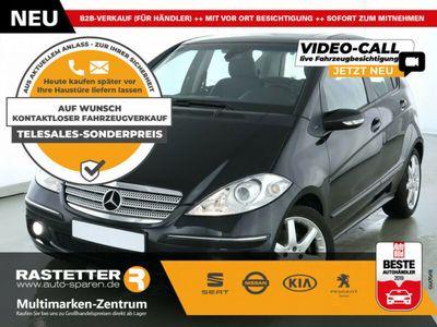 gebraucht Mercedes A200 Turbo Avantgarde Aut. SHZ Lamellendach Klima Temp