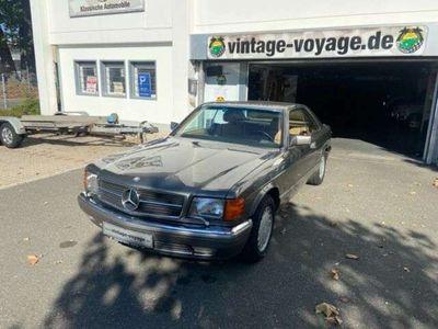 """gebraucht Mercedes 560 SEC W 126 """" Sehr schön aus 1. Hand """""""