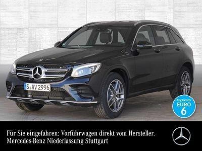 gebraucht Mercedes GLC250 4M AMG Sportpak ILS LED AHK Kamera Navi