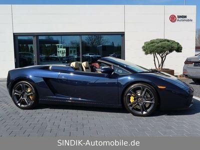 gebraucht Lamborghini Gallardo Spyder V10 5.0 eGear-Leder creme