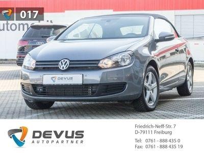 gebraucht VW Golf Cabriolet VI 2.0 TDI Klima Navi PDC GRA LM
