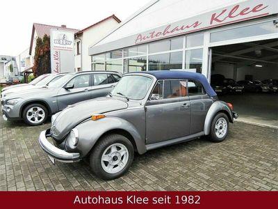 gebraucht VW Käfer 1.6 Cabrio Restauriert Gutachten Tüv Leder als Cabrio/Roadster in Frankenberg/Eder