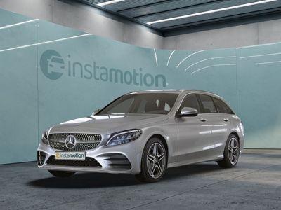 gebraucht Mercedes C180 C 180T AMG Sport LED Navi Spurh.-Ass. Totw.-Ass